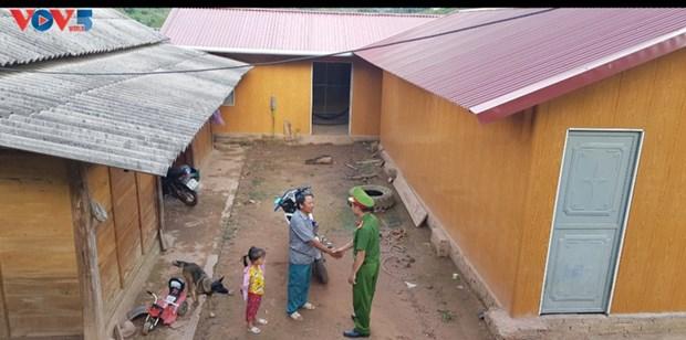 A Dien Bien, le village de Muong Nhe 2 fait peau neuve hinh anh 2