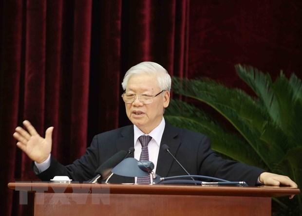 Avis du 13e Plenum du Comite central du Parti (12 mandat) hinh anh 1