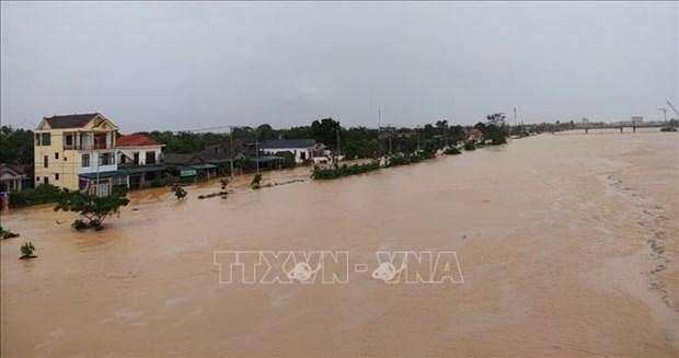 Les intemperies font quatre morts a Quang Tri hinh anh 1