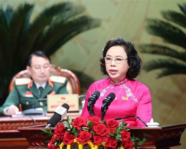 Ouverture du 17e Congres de l'organisation du Parti de Hanoi hinh anh 3