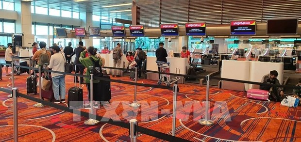 COVID-19 : rapatriement de pres de 360 Vietnamiens de Singapour hinh anh 1