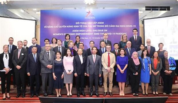 ASEM : dialogue sur l'autonomisation economique des femmes hinh anh 1