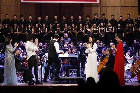 Soiree musique de films a l'opera-ballet de Ho Chi Minh-Ville hinh anh 1