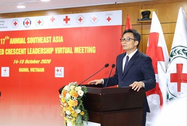 Les dirigeants de la Croix-Rouge et du Croissant-Rouge en Asie du Sud-Est reunis hinh anh 1