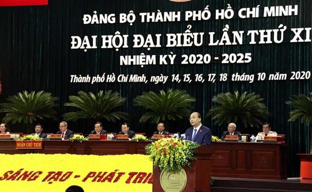 Le PM demande de faire de Ho Chi Minh-Ville une metropole intelligente de classe mondiale hinh anh 1