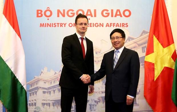 La Hongrie fait grand cas du Vietnam dans sa politique orientale hinh anh 1