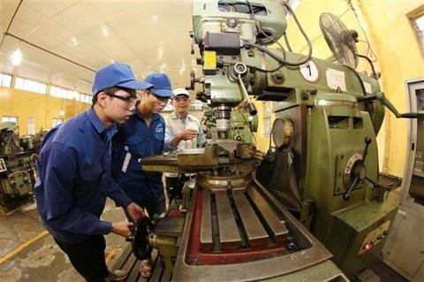 Les industries manufacturieres representeront 90% de la production industrielle a Hanoi hinh anh 1
