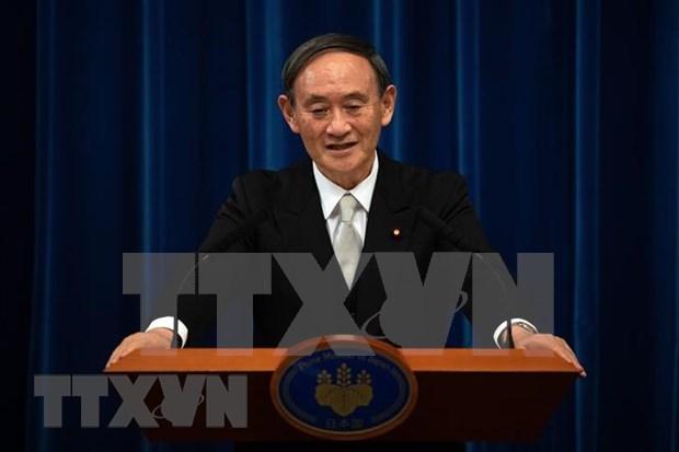 La visite du PM japonais Suga Yoshihide au Vietnam pour forger des liens bilateraux hinh anh 1