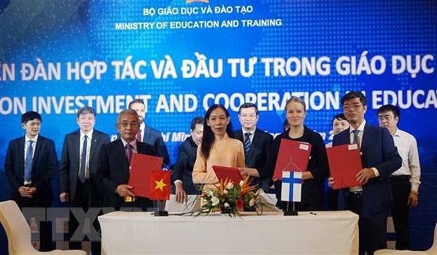 Promouvoir la cooperation et l'investissement dans l'education hinh anh 1