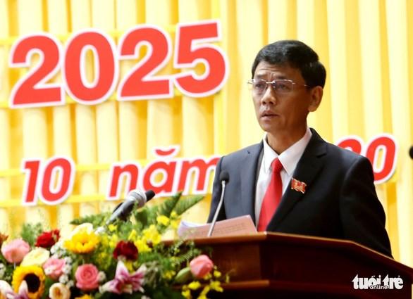 Soc Trang: Lam Van Man elu secretaire du Comite provincial du Parti pour 2020-2025 hinh anh 1
