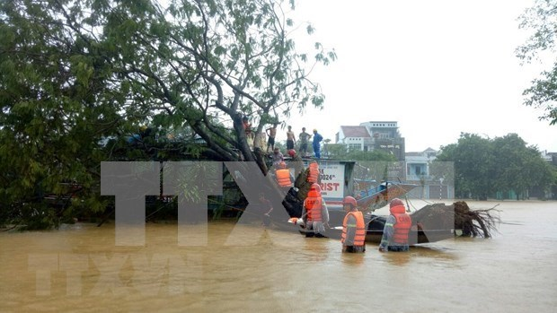 Renforcement de soutien aux localites touchees par les inondations hinh anh 1
