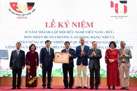 Celebration du 35e anniversaire de l'Association d'amitie Vietnam-Allemagne hinh anh 1