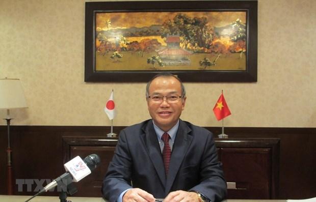 """Les liens Vietnam-Japon, un """"modele de partenariat gagnant-gagnant"""" hinh anh 1"""