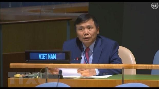 ONU : le Vietnam s'engage a contribur activement au maintien de la paix de de la Quatrieme Commission hinh anh 1