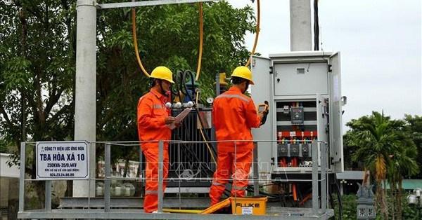 Electricite : EVN annonce l'achevement de plusieurs grands projets hinh anh 1