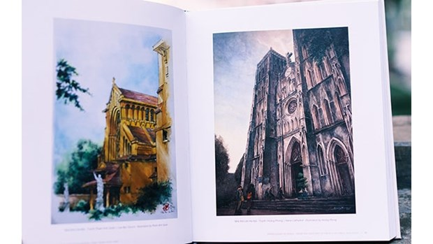 Reconstitution de Hanoi au debut du XXe siecle a travers un livre sur l'architecture francaise hinh anh 1
