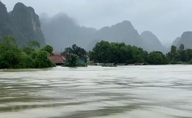 Crues : Message de la mission diplomatique americaine au Vietnam hinh anh 1