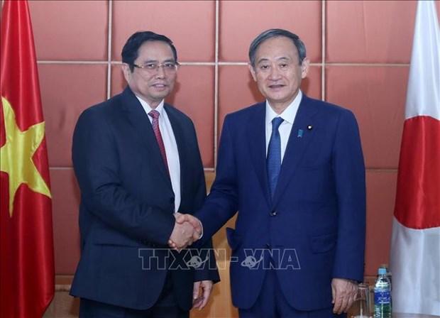Pour resserrer la cooperation entre les groupes des parlementaires d'amitie Vietnam-Japon hinh anh 1