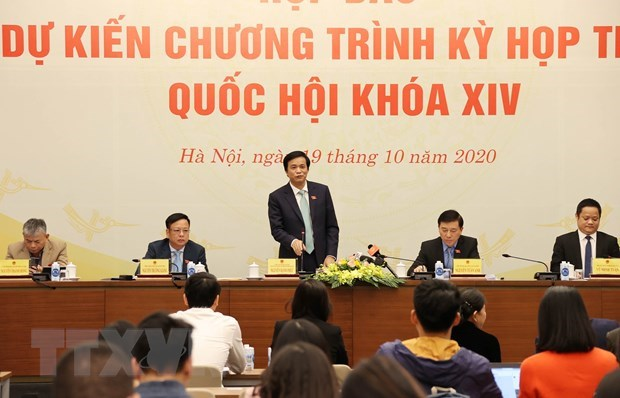 L'Assemblee nationale ouvrira mardi sa 10e session a Hanoi hinh anh 1