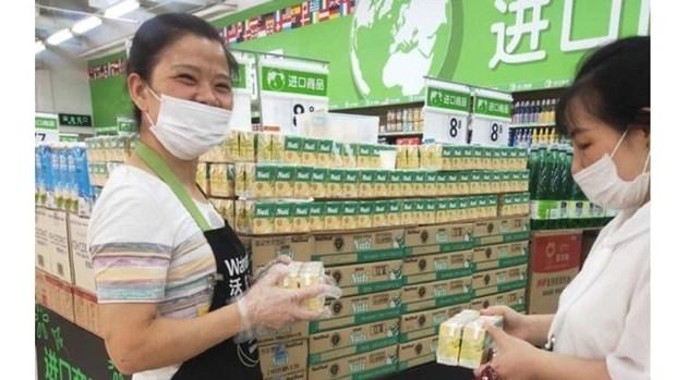 Les premiers produits laitiers vietnamiens vendus chez Walmart hinh anh 1