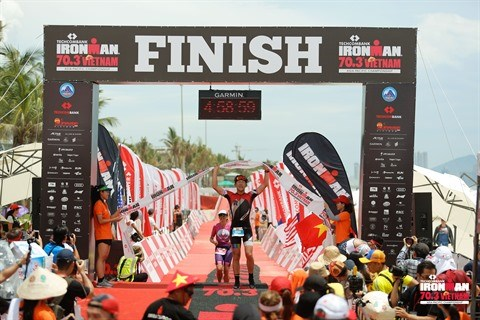 Triathlon: Inscriptions ouvertes pour le Techcombank Ironman 70.3 Vietnam hinh anh 1