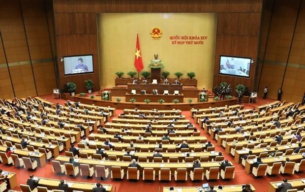 Ouverture de la 10e session de la 14e legislature de l'AN hinh anh 1