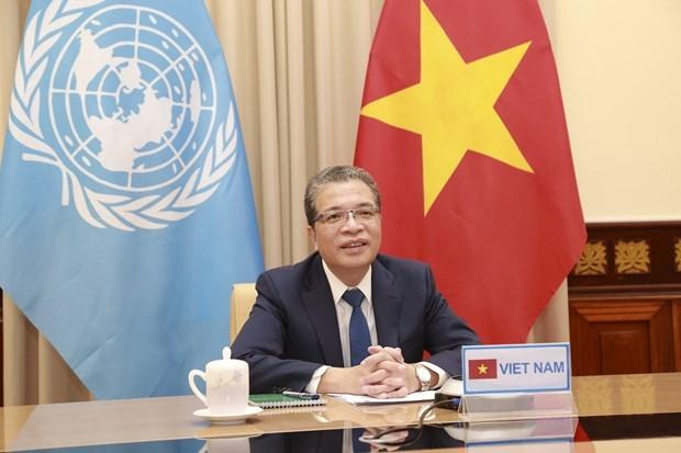Le Vietnam soutient le dialogue et la cooperation dans le golfe Persique hinh anh 1