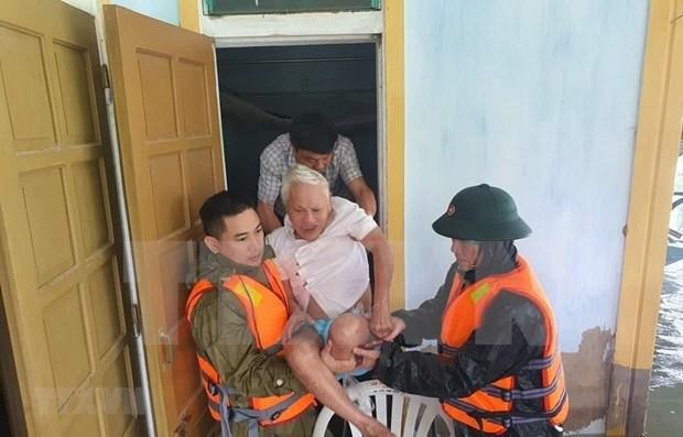 Le Myanmar exprime sa sympathie pour les pertes causees par les inondations au Vietnam hinh anh 1