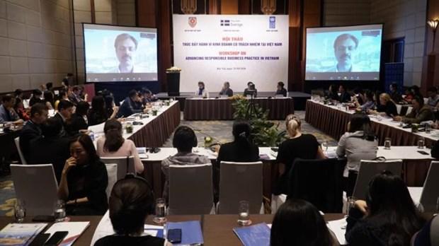Atelier de consultation sur les pratiques commerciales responsables hinh anh 1