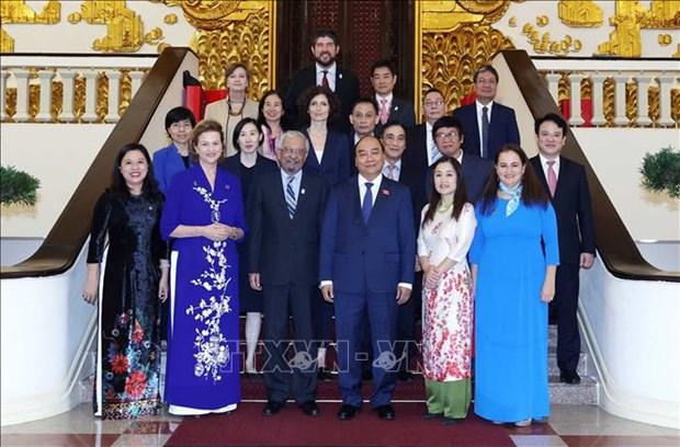 Le PM Nguyen Xuan Phuc recoit le coordinateur de l'ONU au Vietnam hinh anh 1