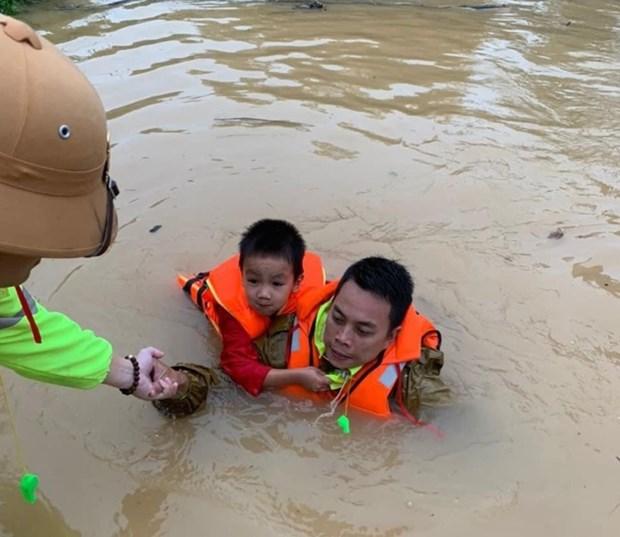 Intemperies: l'UNICEF vient en aide aux enfants du Centre hinh anh 1