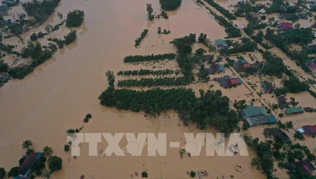 La Republique de Coree fournit 300.000 dollars aux victimes des inondations hinh anh 1