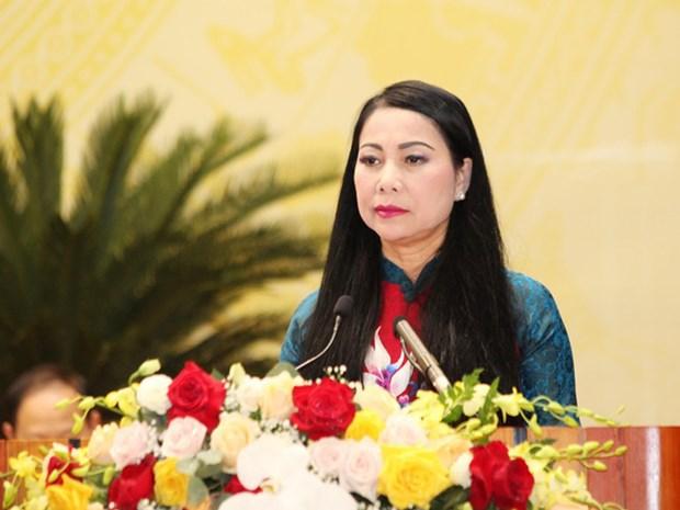 400 femmes elues aux Comites du Parti des provinces et villes hinh anh 1