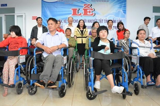 Le Projet 1019 contribue a soutenir les personnes handicapees hinh anh 1