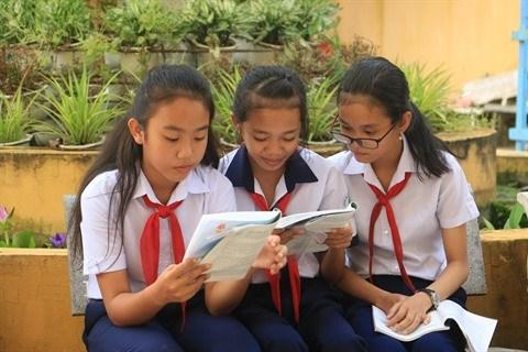 A Soc Trang, les eleves de l'ethnie khmere ont soif d'apprendre hinh anh 1