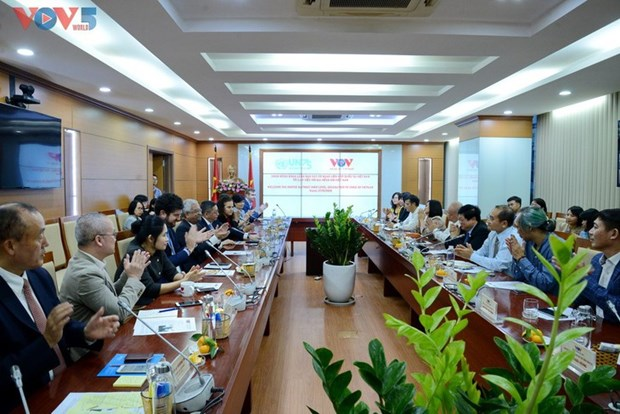La VOV rencontre les representants des organes de l'ONU au Vietnam hinh anh 1