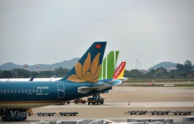 Le trafic aerien au Vietnam atteint 53 millions de passagers en 10 mois hinh anh 1