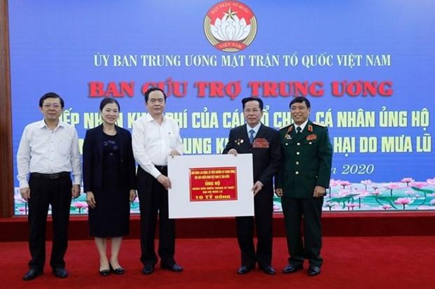 Le gouvernement fournit plus d'aide de riz aux provinces centrales hinh anh 2