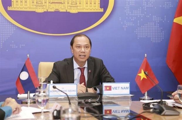 Consultation politique Vietnam-Laos hinh anh 1
