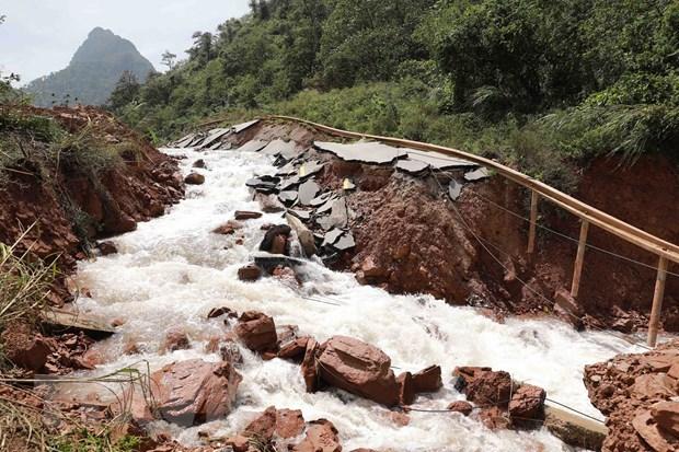Inondations au Centre : messages de sympathie de dirigeants de pays et Partis politiques hinh anh 1