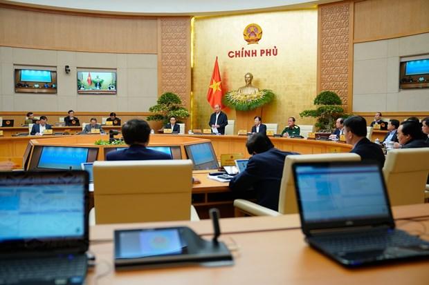 Le PM Nguyen Xuan Phuc demande de redoubler d'efforts pour faire avancer le pays hinh anh 2