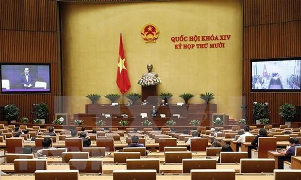 L'Assemblee nationale du Vietnam poursuit sa dixieme session hinh anh 1