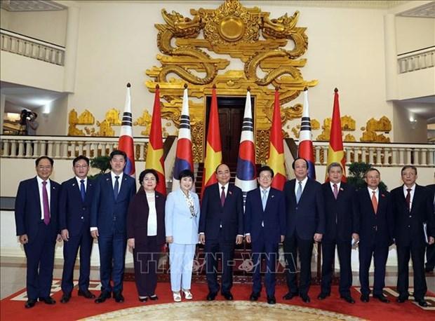 Le PM vietnamien recoit le president de l'AN sud-coreen hinh anh 1