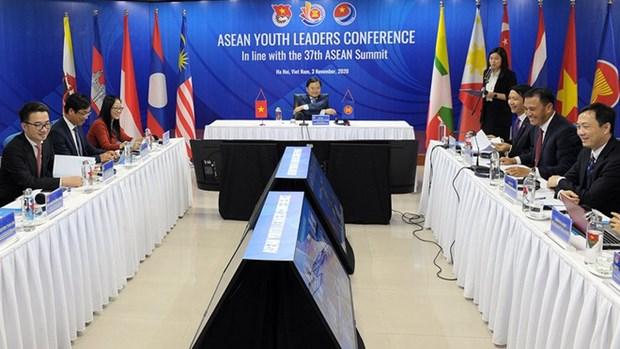 Conference en ligne des leaders de la jeunesse de l'ASEAN hinh anh 1