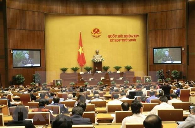 Assemblee nationale: les deputes discutent du developpement socioeconomique hinh anh 1