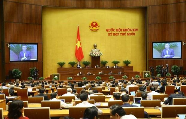 L'Assemblee nationale discute de la situation socio-economique hinh anh 1