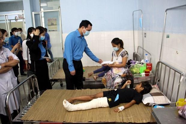 La CGTV au chevet des victimes des inondations dans le Centre hinh anh 1