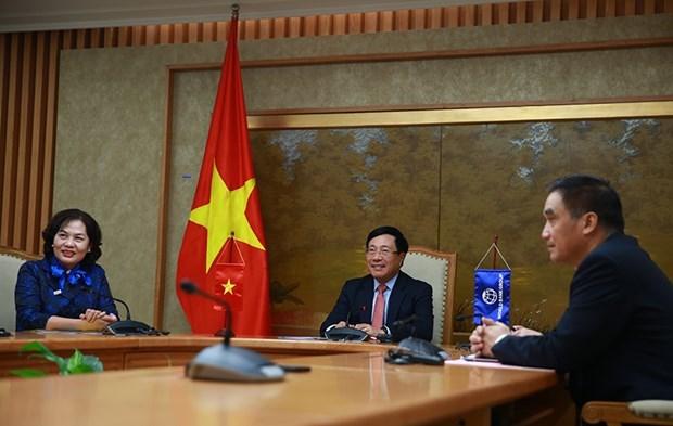 """La BM """"prete a cooperer avec le Vietnam""""' dans differents domaines hinh anh 1"""