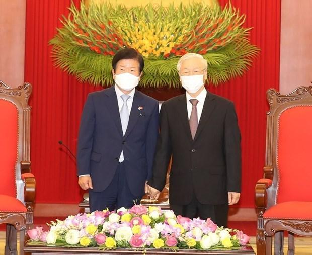 La visite de Park Byung-Seok au Vietnam est couverte par la presse sud-coreenne hinh anh 1
