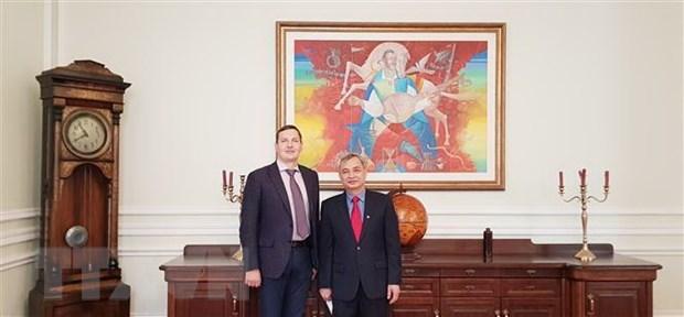 L'Ukraine souhaite resserrer ses relations avec le Vietnam et l'ASEAN hinh anh 1